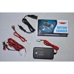 MC Batteriladdare 12V