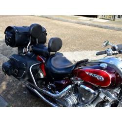 Förarryggstöd Yamaha XV 1600/1700 Wild Star/Road Star